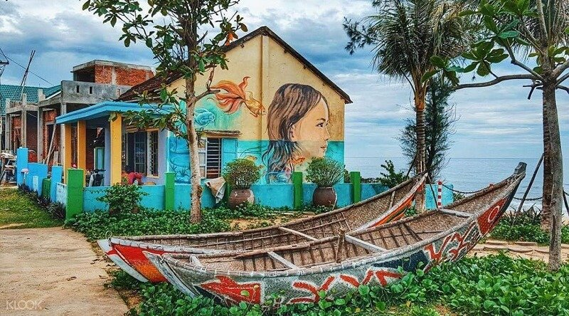 The Village Of The Murals Of Tam Thanh