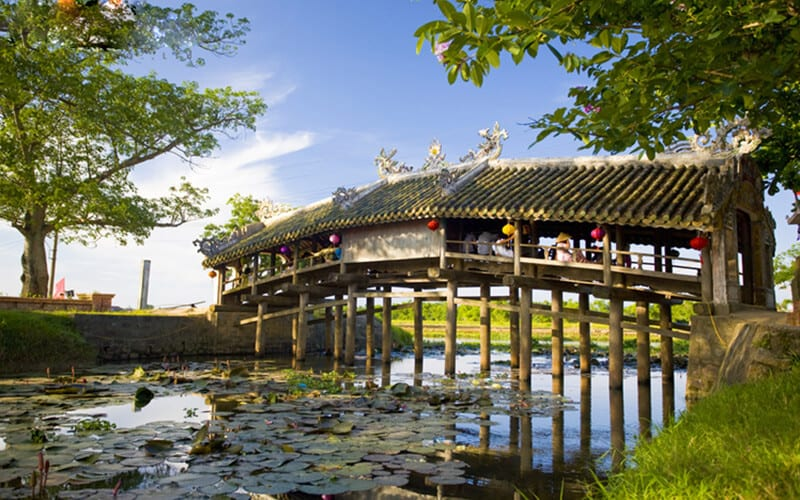 Thanh Toan Japanese Covered Bridge - Hue